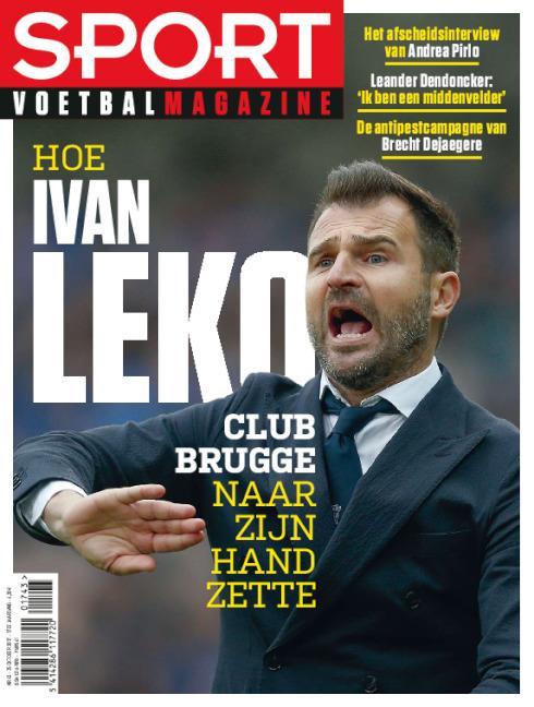 cover Sport/Voetbalmagazine