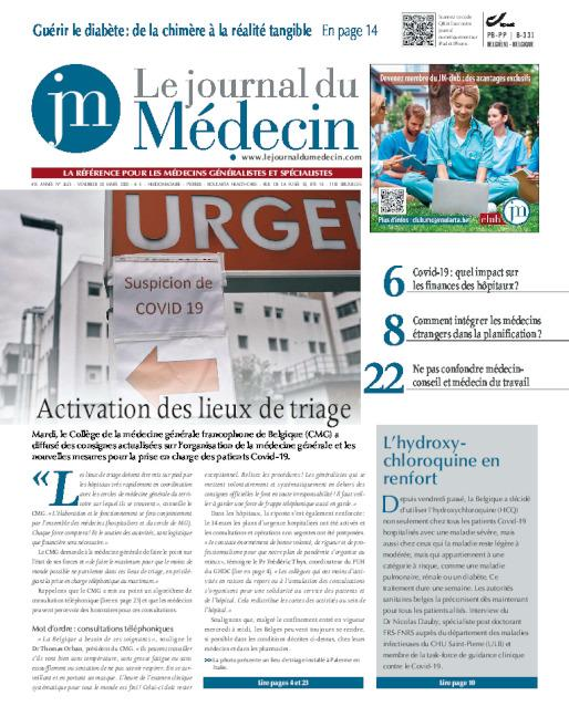 cover le Journal du Medecin