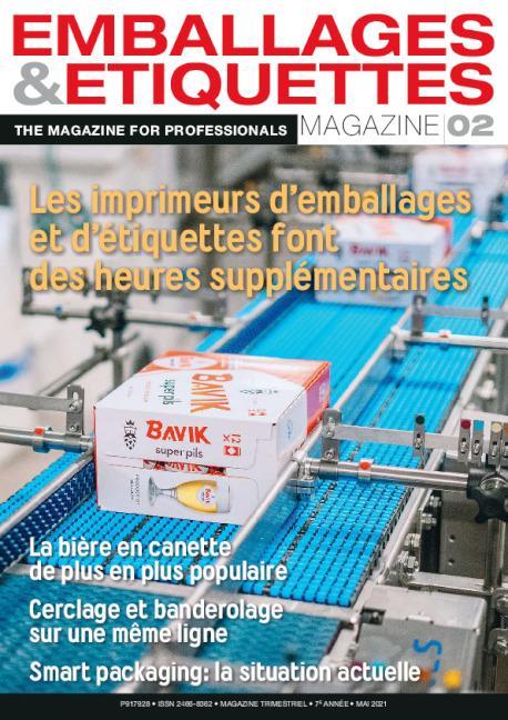 cover Magazine Emballages et Etiquettes