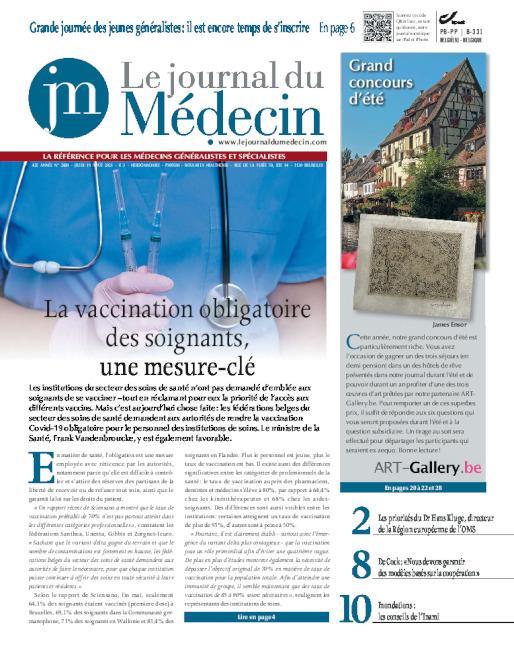 cover le Journal du Medecin