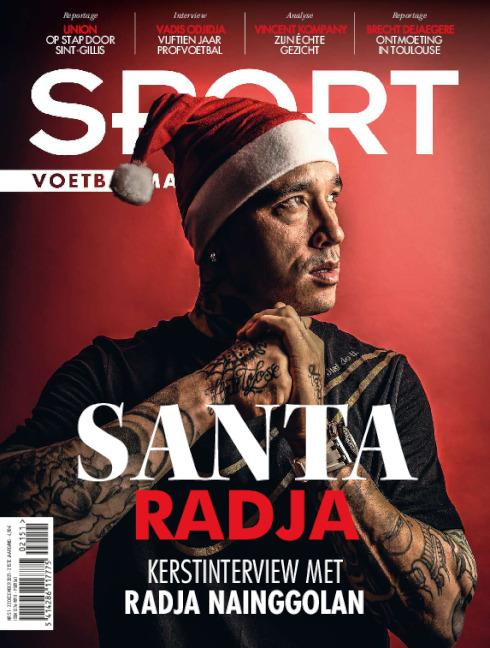 cover Sport/Voetbalmagazine magazine