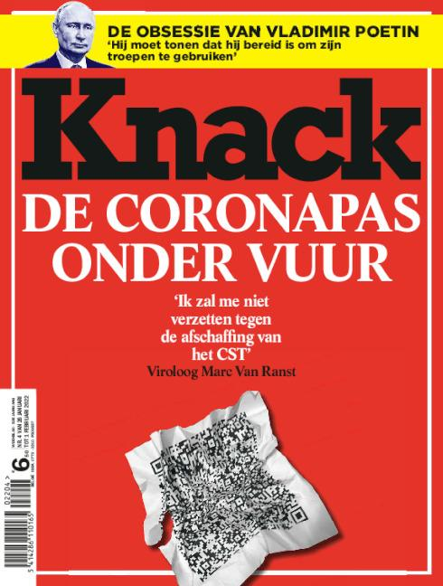 cover Knack magazine