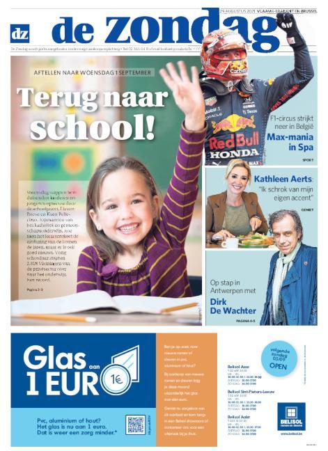 Cover De Zondag regio Vlaams-Brabant